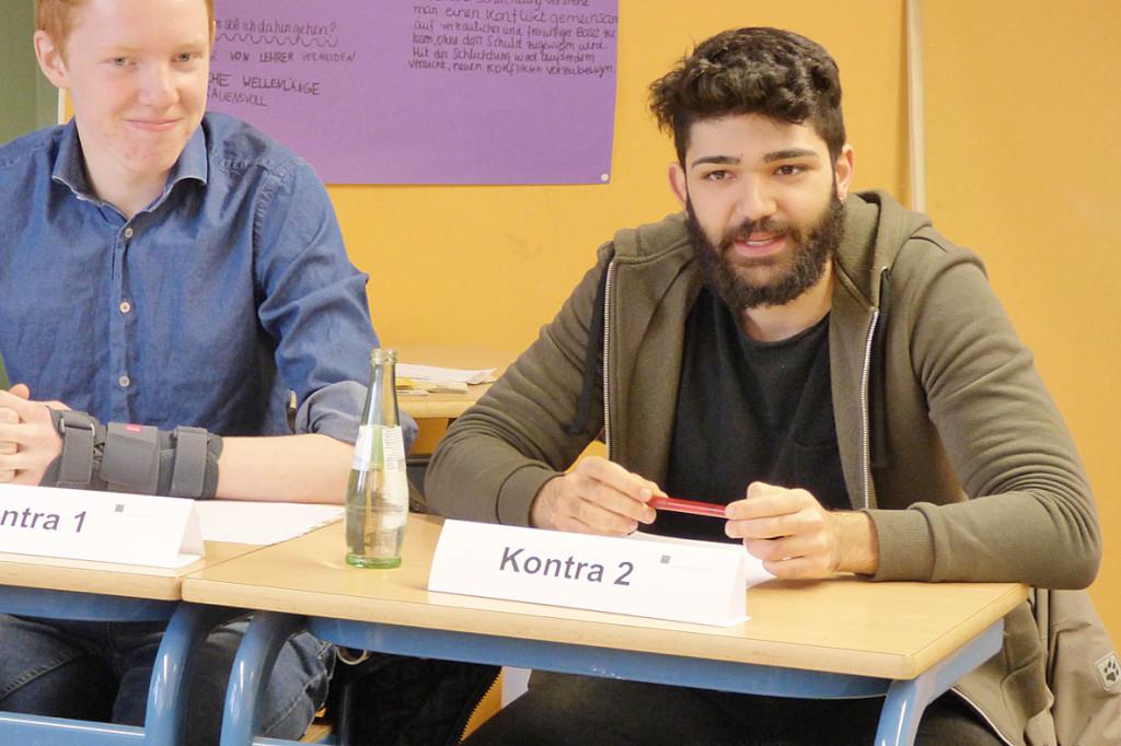 Regionalverbundfinale Jugend debattiert Akdem1